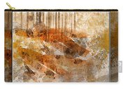 Earthtones Abstract Carry-all Pouch
