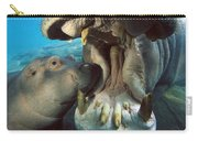 East African River Hippopotamus Carry-all Pouch