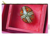 Easter Egg In Pink Box Carry-all Pouch