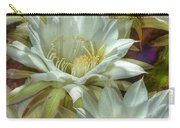 Easter Lily Cactus Bouquet Hdr Carry-all Pouch