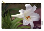 Easter Lily Carry-all Pouch