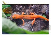 Easterm Newt Nnotophthalmus Viridescens 10 Carry-all Pouch