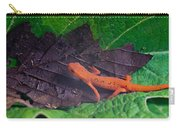 Easterm Newt Nnotophthalmus Viridescens 12 Carry-all Pouch