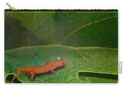 Easterm Newt Nnotophthalmus Viridescens 14 Carry-all Pouch