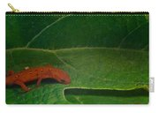 Easterm Newt Nnotophthalmus Viridescens 17 Carry-all Pouch