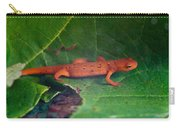 Eastern Newt Notophthalmus Viridescens 27 Carry-all Pouch