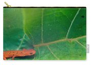 Eastern Newt Notophthalmus Viridescens 28 Carry-all Pouch