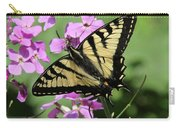 Canadian Tiger Swallowtail On Phlox Carry-all Pouch