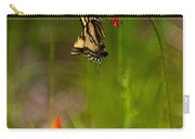 Eastern Tiger Swallowtail Profile Shot Carry-all Pouch