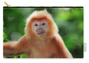 Ebony Leaf Monkey Trachypithecus Carry-all Pouch
