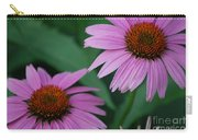 Echinacea Cone Flowers Carry-all Pouch