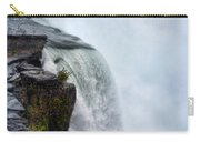 Edge Of Niagara Falls Carry-all Pouch