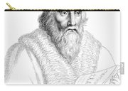 Edward Kelley, English Alchemist Carry-all Pouch by Science Source