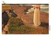 Edwardian Lady By The Sea Carry-all Pouch