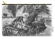 Eel Fishing, 1850 Carry-all Pouch