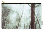 Eerie Winter Woods Carry-all Pouch