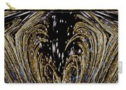 Effervescent Golden Arches Abstract Carry-all Pouch by Carolyn Marshall