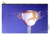 Egg Hit By A Bullet Carry-all Pouch