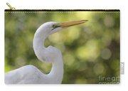 Egret Alphabet Carry-all Pouch