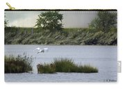 Egret Over Water Carry-all Pouch