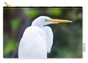 Egret Preening Carry-all Pouch