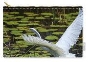 Egret Take Off Carry-all Pouch