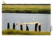 Egrets In The Salt Marsh Carry-all Pouch
