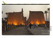 Egypt Luxor Temple Carry-all Pouch