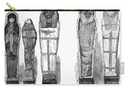 Egypt: Royal Mummies, 1882 Carry-all Pouch by Granger