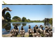 Egyptian Geese Carry-all Pouch by Fabrizio Troiani