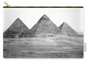 Egyptian Pyramids - C 1901 Carry-all Pouch