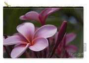 Eia Ku'u Lei Aloha Kula - Pua Melia - Pink Tropical Plumeria Maui Hawaii Carry-all Pouch