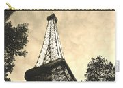 Eiffel Tower At Dusk Carry-all Pouch