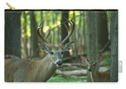 Eight Point And Fawn_9532_4367 Carry-all Pouch