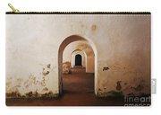 El Morro Fort Barracks Arched Doorways San Juan Puerto Rico Prints Carry-all Pouch