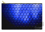 Electric Blue Circle Bumps Carry-all Pouch