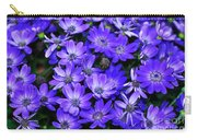 Electric Indigo Garden Carry-all Pouch