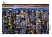 Electric Nyc Carry-all Pouch by Kelley King