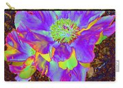 Electric Peony Carry-all Pouch