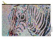Electric Zebra Carry-all Pouch
