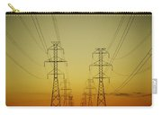 Electricity Pylons Carry-all Pouch