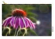 Electrified Coneflower Carry-all Pouch