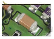 Electronics Board With Lead Solder Carry-all Pouch