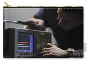 Electronics Technician Troubleshoots An Carry-all Pouch