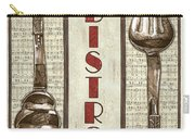 Elegant Bistro 1 Carry-all Pouch by Debbie DeWitt
