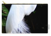 Elegant Egret At Water's Edge Carry-all Pouch