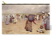 Elegant Figures On A Beach Carry-all Pouch