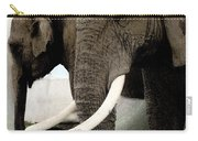 Elephant Meet Carry-all Pouch