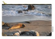 Elephant Seals At Piedras Blancas Carry-all Pouch