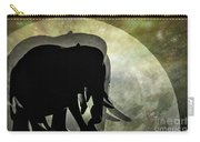 Elephants On Moonlight Walk 2 Carry-all Pouch